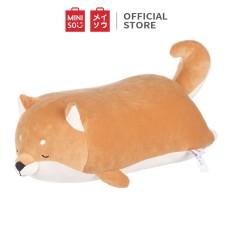 Gấu Bông Miniso Thú Chó Shiba 54cm (Nâu) – Hàng chính hãng