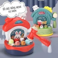 Bộ đồ chơi đập chuột tích hợp nhiều chức năng giúp bé phát triển toàn diện – giao màu ngẫu nhiên