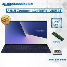 Laptop ASUS ZenBook UX433FA-A6053T (i5-8265U,14 inches) – Hàng Chính Hãng