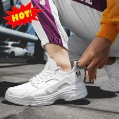 Giày sneaker nam trắng mới nhất 2019 GTT (Khuyến Mại 50%)