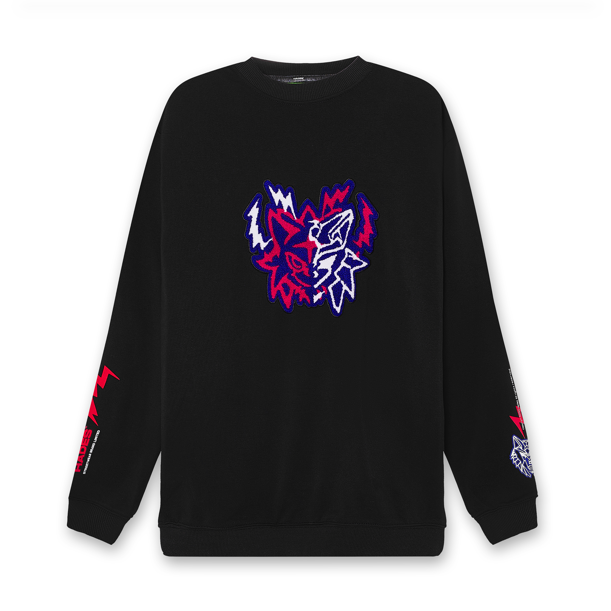 TWO FACES SWEATER - HADES STUDIO