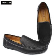 Giày lười nam da bò Rozalo R6102