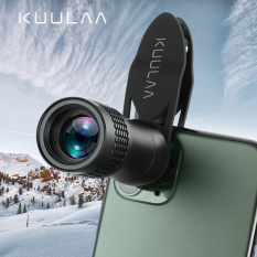 KUULAA Ống Kính Điện Thoại Di Động HD Thu Phóng Một Mắt Universal 14x Ống Kính Chụp Xa Cho Điện Thoại Thông Minh iPhone 11 Pro