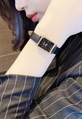 Đồng hồ nữ Julius Hàn Quốc JA-787B dây da (Màu đen)