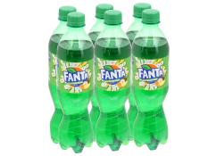 Lốc 6 chai Fanta hương soda kem trái cây 300ml