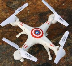 Máy Bay Điều Khiển F504 Captain America (loại to )