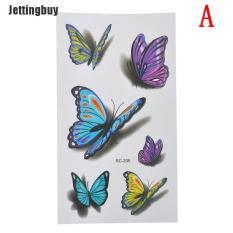 Đề Can Hình Xăm 3d Jettingbuy Không Thấm Nước Nhãn Dán Tạm Thời Mô Hình Bướm Body Art Phụ Nữ A