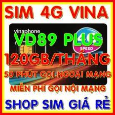 SIM 4G – Thánh sim 4G Vinaphone VD89P gói 120gb/tháng + Gọi nội mạng miễn phí + 50 phút gọi ngoại mạng – Shop Sim Giá Rẻ