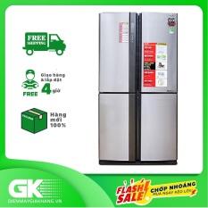 TRẢ GÓP 0% – Tủ lạnh Sharp side by side Inverter 556 lít SJ-FX630V-ST – Hàng mới 100%, nguyên đai nguyên kiện – Bảo hành 24 tháng
