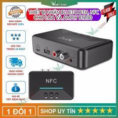 BT200 Bluetooth 5.0 Âm Thanh Thu NFC AUX 3.5 Mm Jack RCA Hifi Không Dây Tự Động Cho Xe Ô Tô Tự Động Không Dây bộ Chuyển Đổi