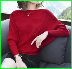 Áo len nữ form rộng 2019