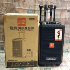 Loa Kéo JBZ 0811 Có Đèn LED, Âm Thanh hay và Có Mic hát Karaoke Chống Hú Cực Tốt