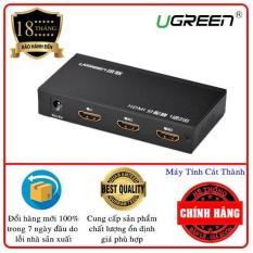 Bộ chia cổng HDMI 1 cổng ra 2 cổng Hỗ trợ full HD UGREEN 40201 (ĐEN)