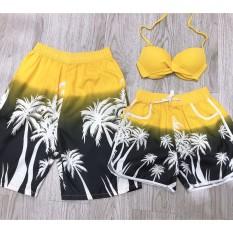 Cặp quần đôi đẹp kèm áo mặc đi biển đi bơi hot ( như hình)