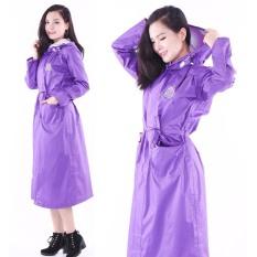 Áo mưa măng tô, áo mưa nữ 1 đầu, 1 người chống thấm cực tốt giá siêu rẻ F89 0049