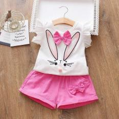 Bộ quần áo mẫu thỏ nơ – Chất cotton [Mẫu 30/31]