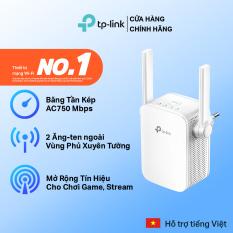 Bộ Mở Rộng Sóng Wifi TP-Link RE205 Chuẩn AC 750Mbps – Hàng Chính Hãng