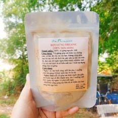60g Bột Gừng trị cảm cúm Organic Nguyên Chất