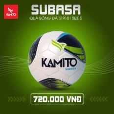 Quả bóng đá Kamito Subasa số 5 bóng chính hãng chơi sân cỏ nhân tạo