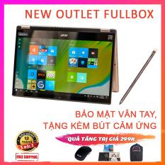 (NEW OUTLET FULLBOX) Acer Spin 3 2020 (SP314-54N) Kèm Bút Cảm Ứng, Bảo Mật Vân Tay, i5-1035G1, RAM 8G, SSD NVMe 256G, VGA Intel UHD G1, Win 10 Bản Quyền