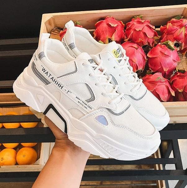 Giày nam đẹp HOT 2020 phản quang Minh Hà - 346, Giày thể thao nam đế cao 6cm