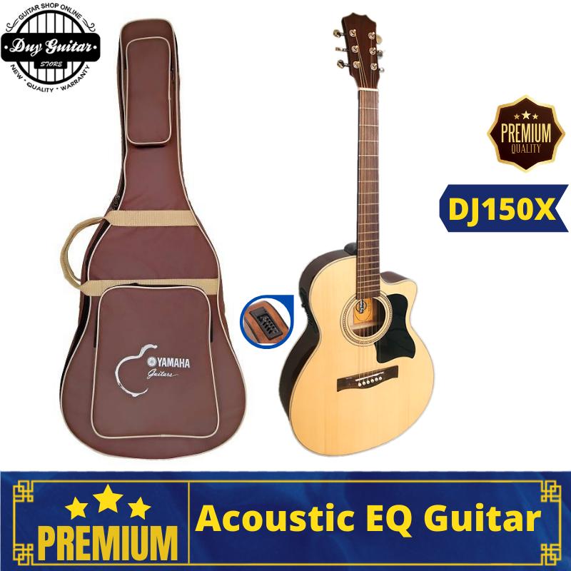 Đàn guitar acoustic có eq full solid hồng đào chất lượng DJ150X Duy Guitar Store dòng đàn ghitar đệm hát dành cho biểu diễn party