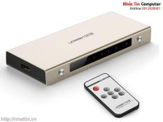 Bộ chuyển mạch HDMI 5 vào 1 ra hỗ trợ 3D 4K Ugreen 40279