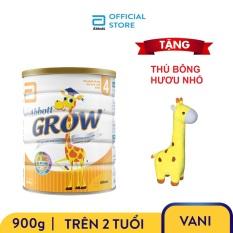 Sữa bột Abbott Grow 4 900g Tặng Hươu bông nhỏ