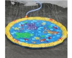 Đồ chơi phao phun nước cho bé đường kính 1,7m – Bể phao phun nước cho bé vui chơi
