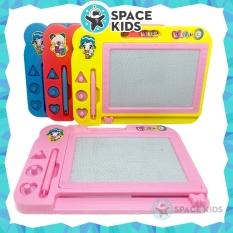 Đồ chơi trẻ em Space Kids Bảng viết từ tính tự xóa, bảng vẽ thông minh cho bé tập viết và vẽ