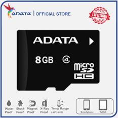 Thẻ nhớ Adata Micro SDHC 8GB Class4 – Bảo hành 12 tháng