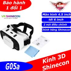 Kính 3D Vr Shinecon G06/ G06E/ G07E tương thích với các dòng smartphone từ 4.7 tới 6 inch, hỗ trợ thấu kính Aspherical 40mm