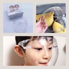 Kính MICA chắn giọt bắn cho bé từ Mẫu giáo đến Tiểu học, Kính phòng chống COVID, kính đeo an toàn cho bé