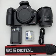 Canon 300D Kèm Ống kính Canon 35-80mm 90% – Đen/Bạc