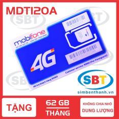 SIM 4G MOBIFONE 62 GB/THÁNG TỐC ĐỘ CAO