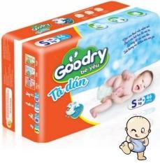 Tã dán Goodry Bé Yêu S46/M42/L38/XL34