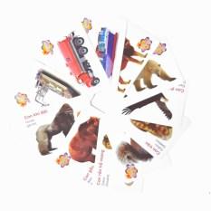 Bộ Flash Cards học tiếng anh dành cho bé – Mỗi bộ 8 thẻ