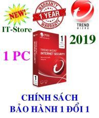 Phần mềm diệt virus Trend Micro Internet Security 2019 – 1PC/Năm