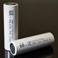 [P20] Pin sạc Molicel 21700 P42A 4200mAh 45A