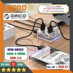 [TRONG SUỐT] Hub – Bộ chia 4 cổng USB 3.0 ( HUB USB 3.0 ) – Orico MH4U – CHÍNH HÃNG bảo hành 12 tháng!