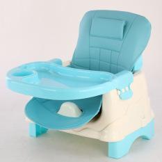 Ghế ăn dặm, ghế tập ăn cho bé cao cấp 3 trong 1, có chân, có bánh xe, có đệm an toàn cho các bé