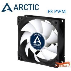 Quạt Fan Case 8cm Arctic F8 PWM [ThermalVN] – Quạt quay 2000 RPM êm, Sức gió lớn, Giảm nhiệt mạnh mẽ