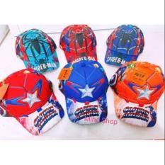 Mũ/nón siêu nhân rẻ đẹp cho bé trai – mũ siêu nhân