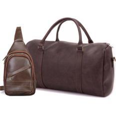 Bộ đôi túi du lịch cao cấp HANAMA TẶNG kèm túi đeo chéo N1- S16