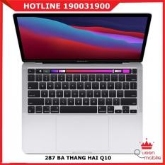 [QUEEN MOBILE] Macbook Pro 13″ 2020 Silver MYDA2 – Apple M1 256GB SSD – Hàng chính hãng