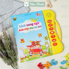 [Phiên Bản Mới Nhất] Sách Nói Điện Tử Song Ngữ Anh- Việt Giúp Trẻ Học Tốt Tiếng Anh