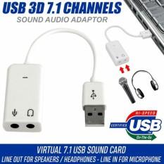 Cáp chuyển đổi usb ra âm thanh cổng 3.5 – usb sound 7.1 chất lượng đảm bảo an toàn đến sức khỏe người sử dụng cam kết hàng đúng mô tả