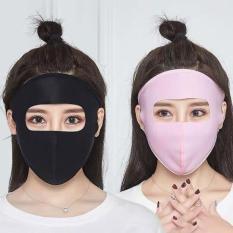 Khẩu trang nữ kín mặt trán, khẩu trang Ninja mẫu mới 2019 hot