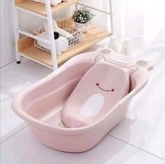 Chậu tắm cho bé hình con ếch nhựa Việt Nhật cao cấp. Kích thước 77 x 50 x 32cm