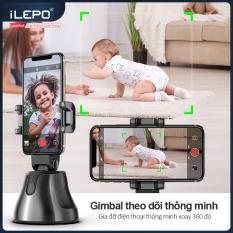 Gimbal theo dõi thông minh Gía đỡ điện thoại thông minh xoay 360 độ ,Chuyển động theo sự di chuyển của vật thể ,Nhận diện khuôn mặt ,Thời lượng pin dài ,Bảo hành 1 năm APAI GENIE
